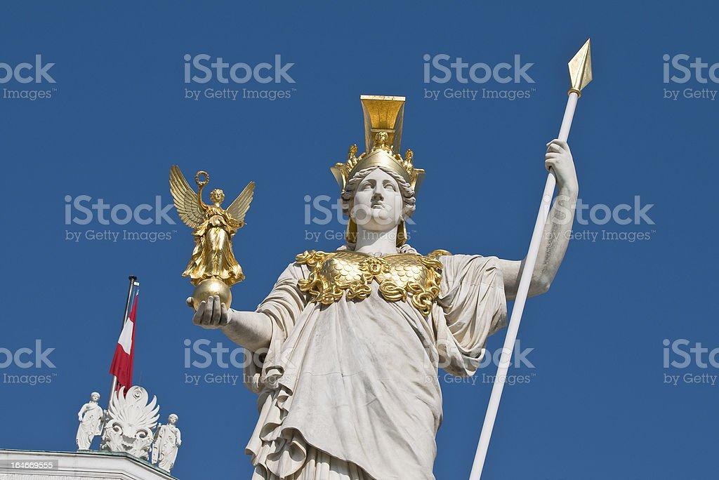 Vienna, Parliament stock photo