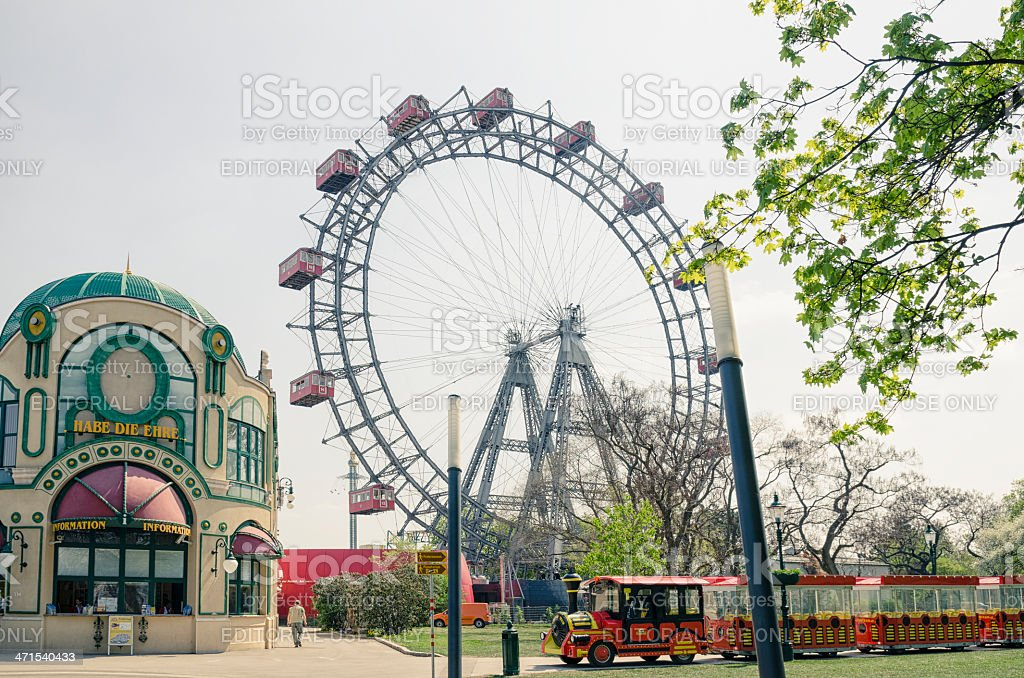 Vienna Prater stock photo
