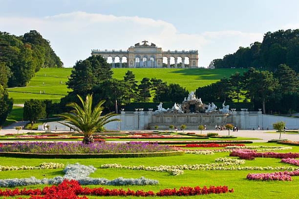 Wien, dem Schloss Schönbrunn – Foto