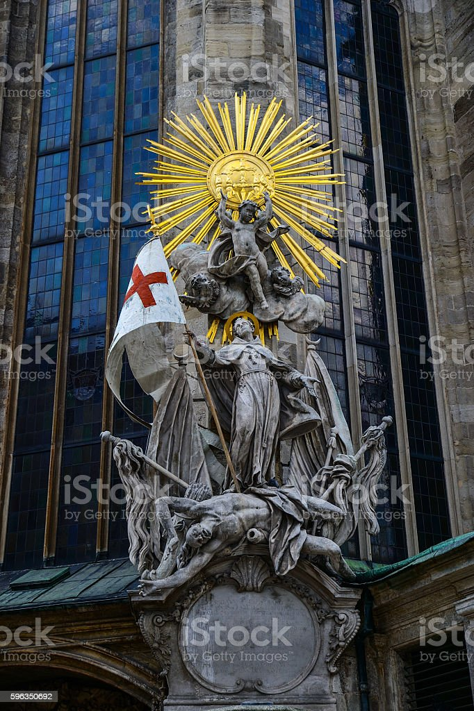 Vienna - St. Stephan cathedral, Austria, Wien royalty-free stock photo