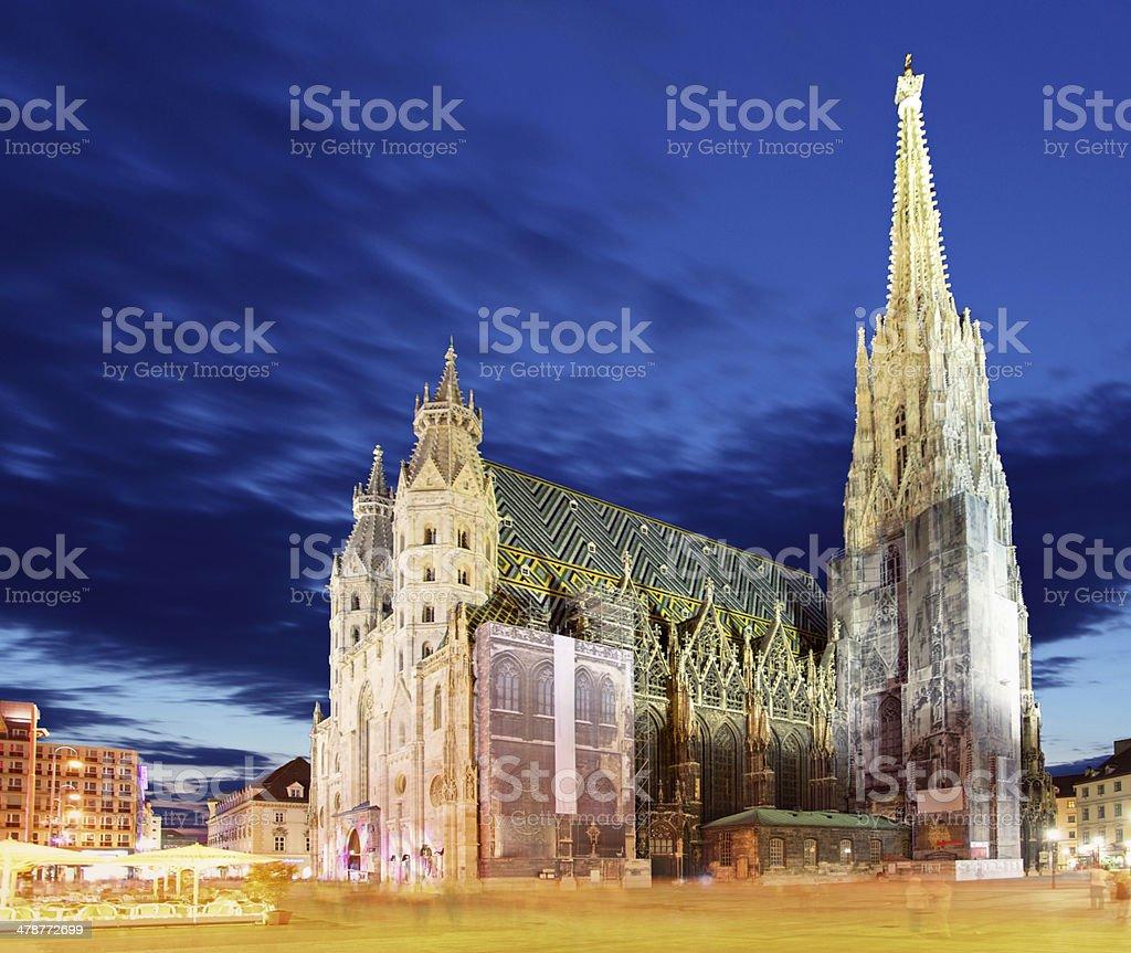 Vienna Stephansdom, Austria stock photo