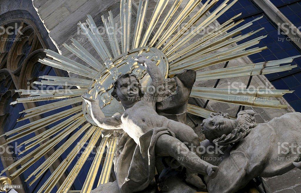 Vienna Stephansdom royalty-free stock photo