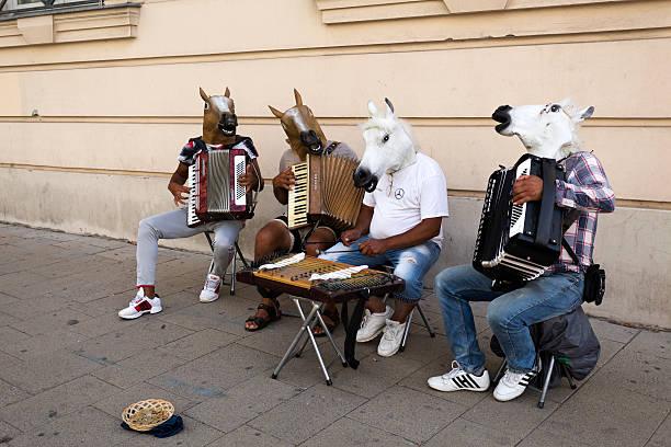 Vienna Street Music - foto de stock