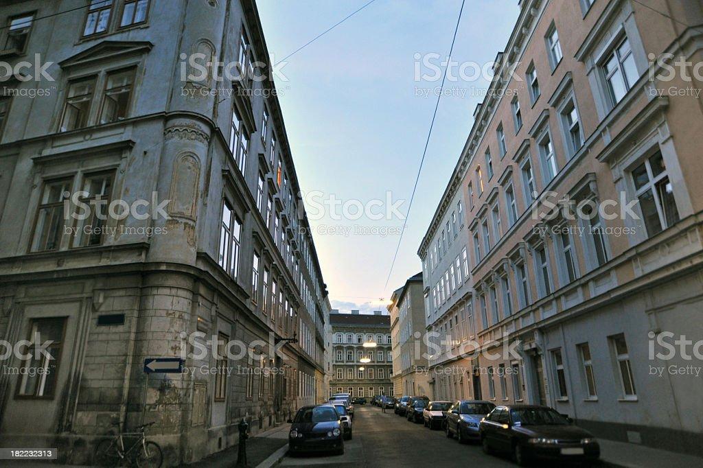 Vienna Street Scene royalty-free stock photo