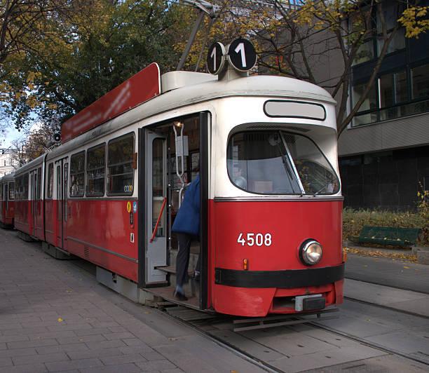 Vienna Streetcar stock photo