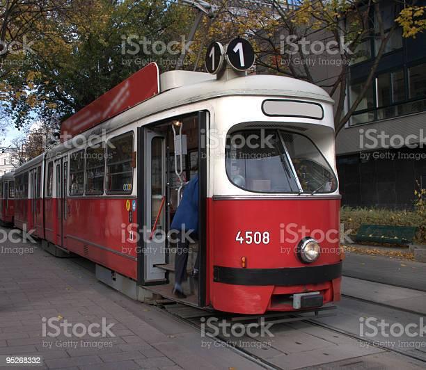Vienna Streetcar Stock Photo - Download Image Now
