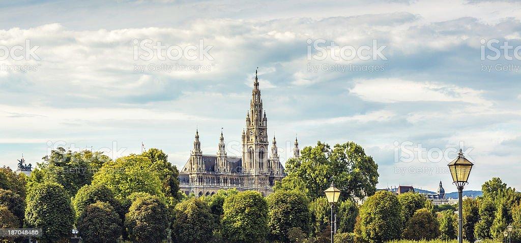 Vienna Town Hall, Austria royalty-free stock photo