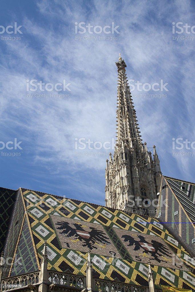 Vienna-Stephansdom stock photo