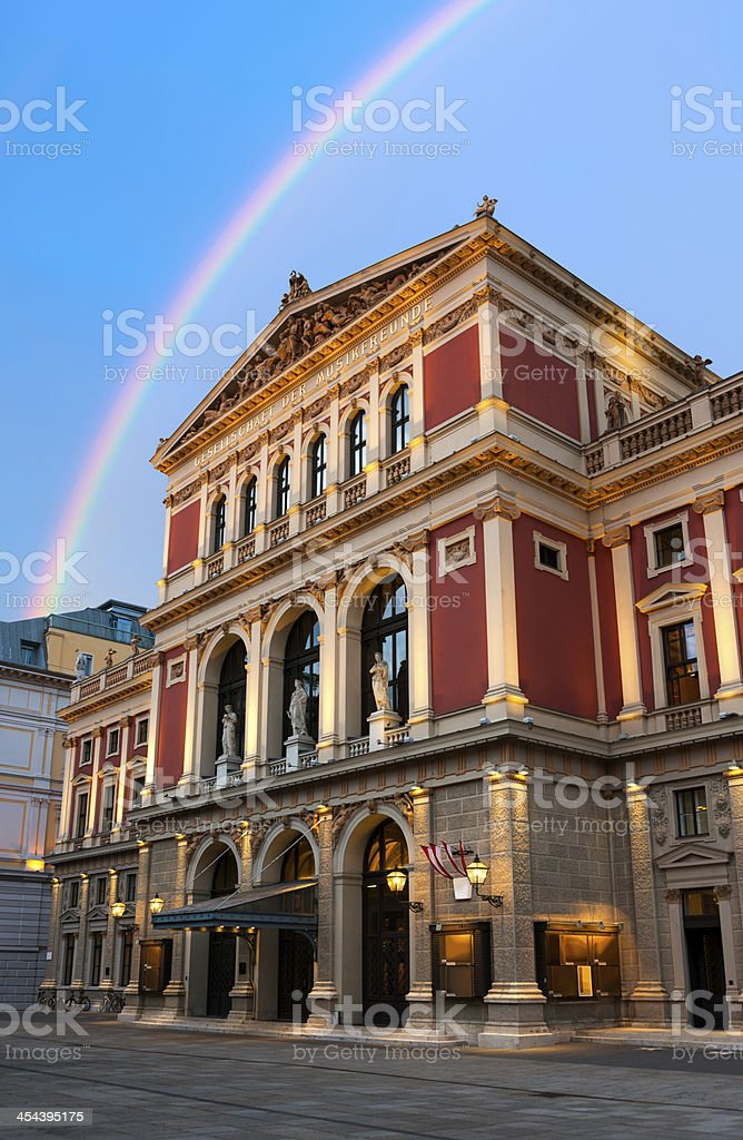Viennese Music Association stock photo