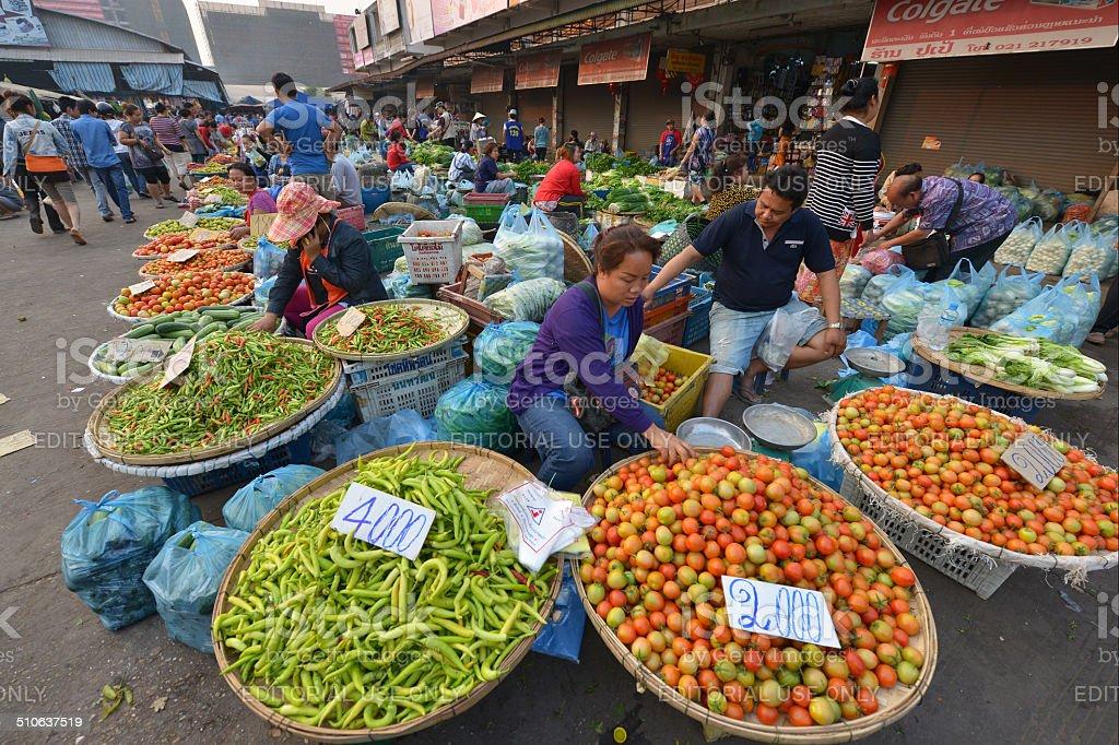 Vientiane, Laos stock photo