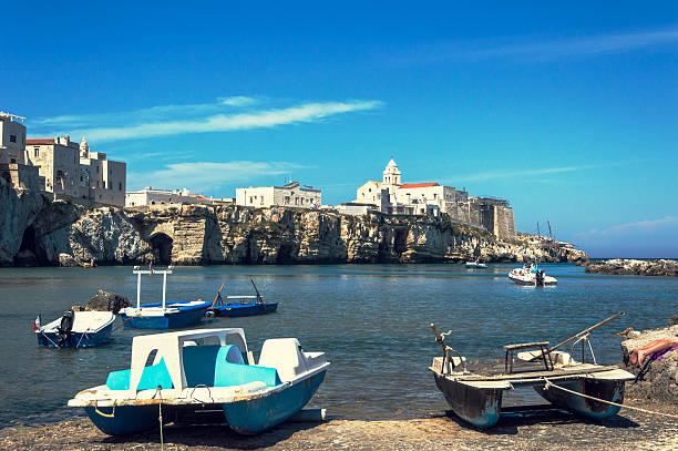Vieste, Puglia stock photo