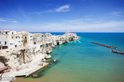 istock Vieste town, Puglia, Italy 626774116