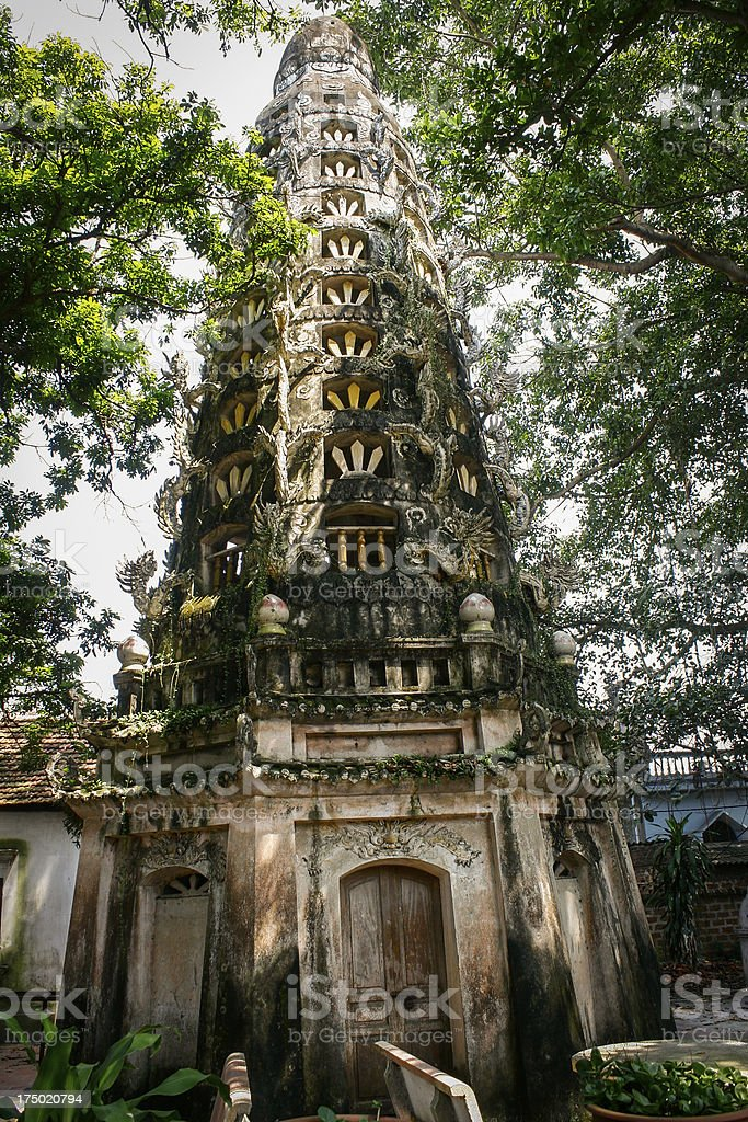 Viet Nam tourist - Duong Lam ancient village royalty-free stock photo