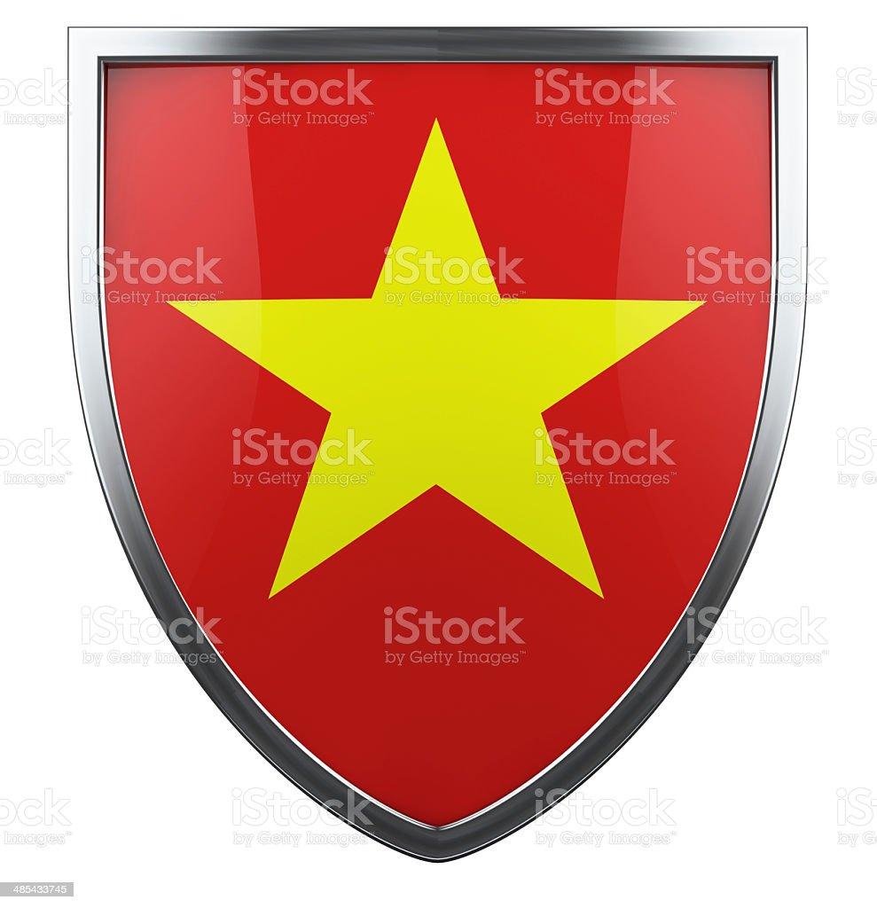 Vietnam flag royalty-free stock photo