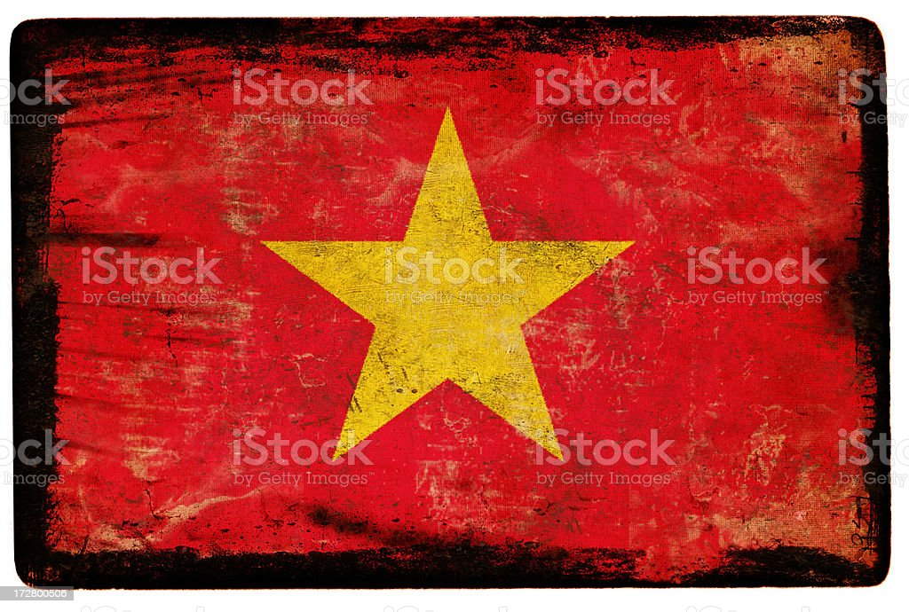 Vietnam bandera XXL - foto de stock