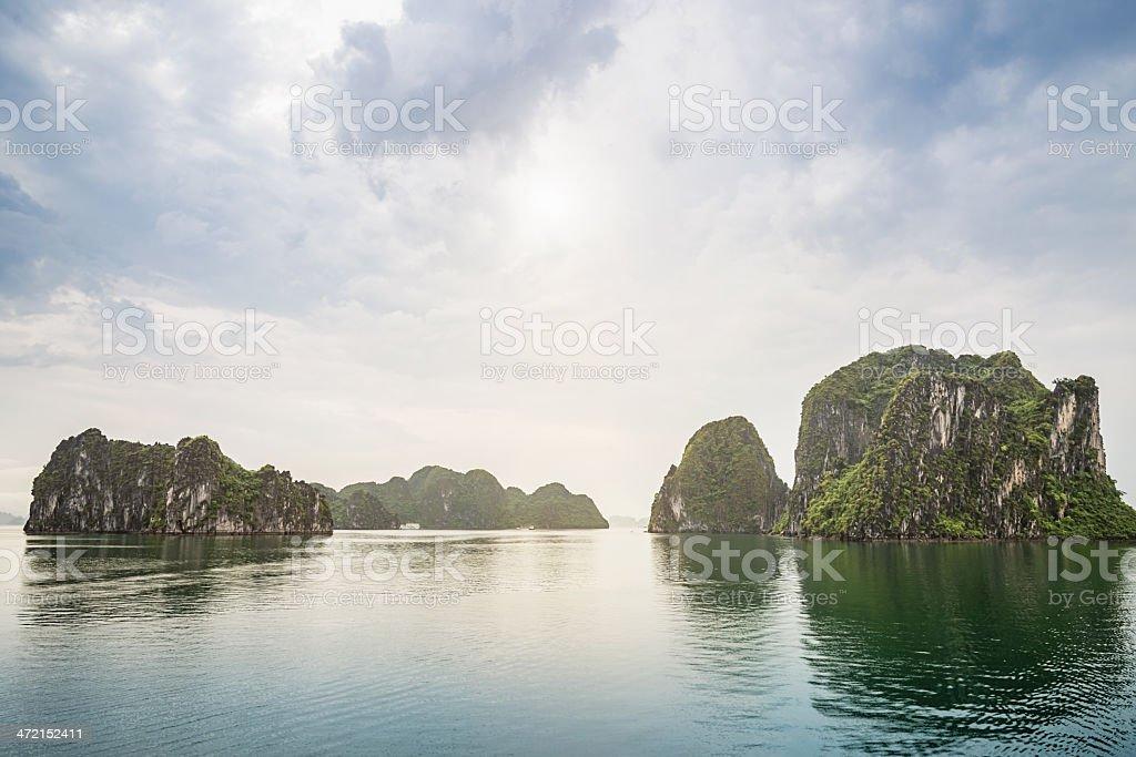Vietnam Ha Long Bay stock photo