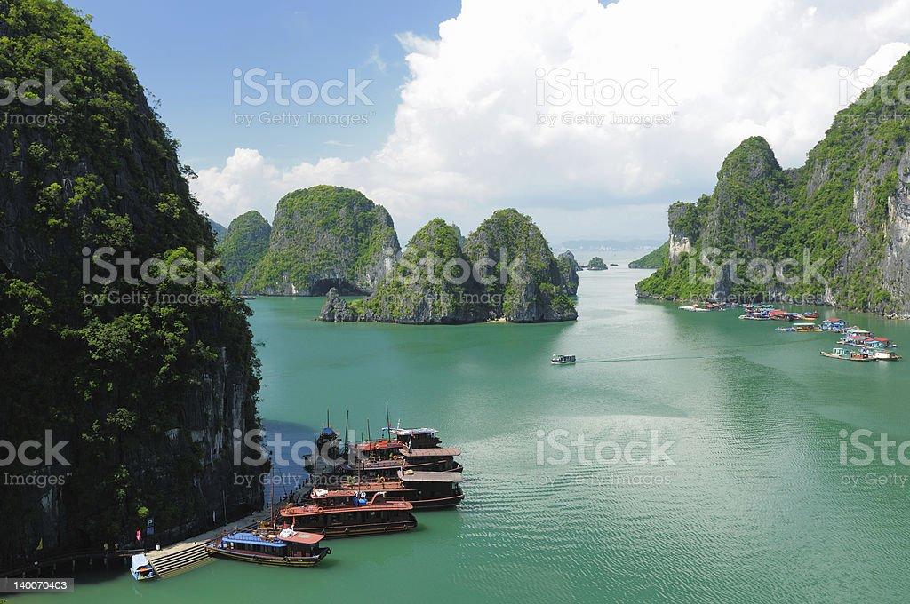 Vietnam - Halong Bay royalty-free stock photo