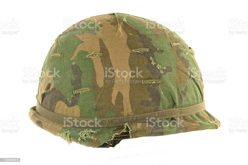 Vietnam Helmet stock photo