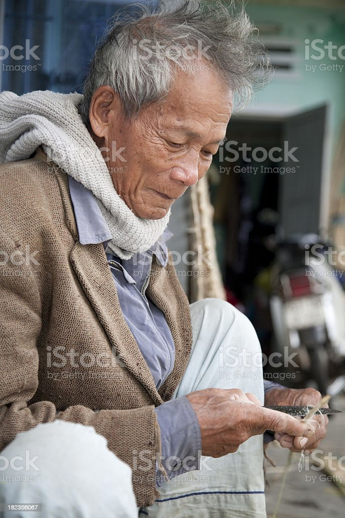 Vietnam, Hoi an, craft work. royalty-free stock photo