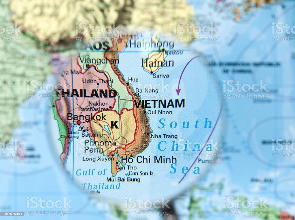 vietnam map vietnam map Calendar Date Stock Photo