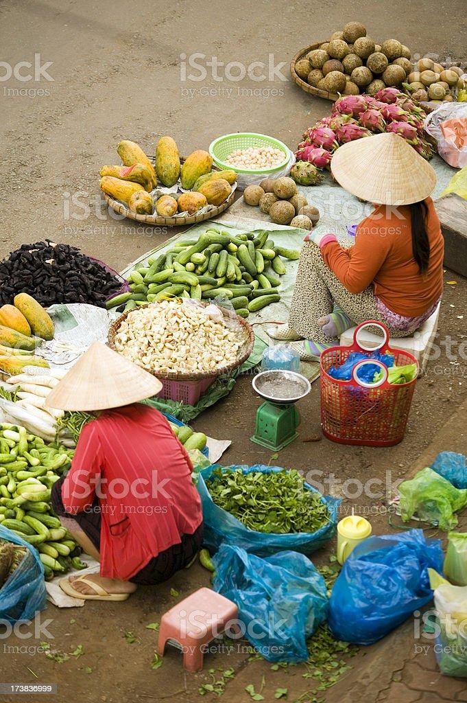 vietnam market ho chi minh saigon stock photo