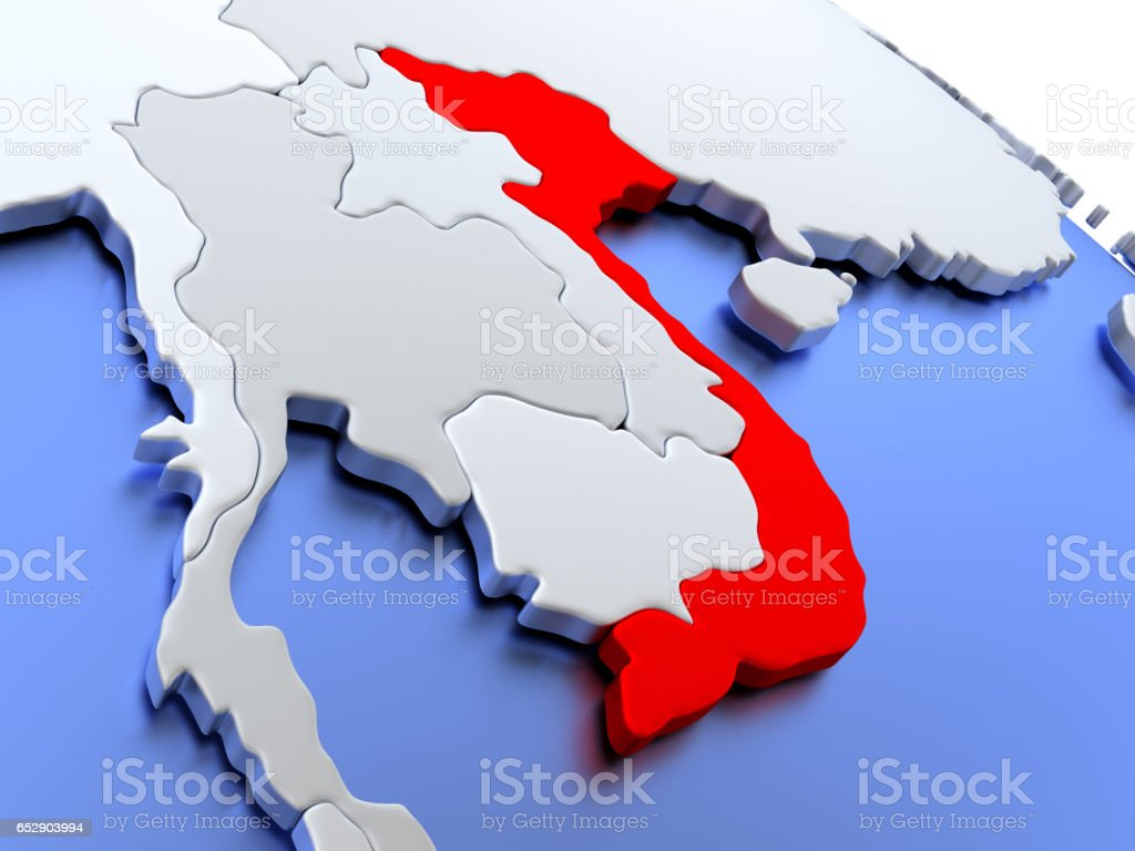 Vietnam On World Map Stock Photo Download Image Now Istock