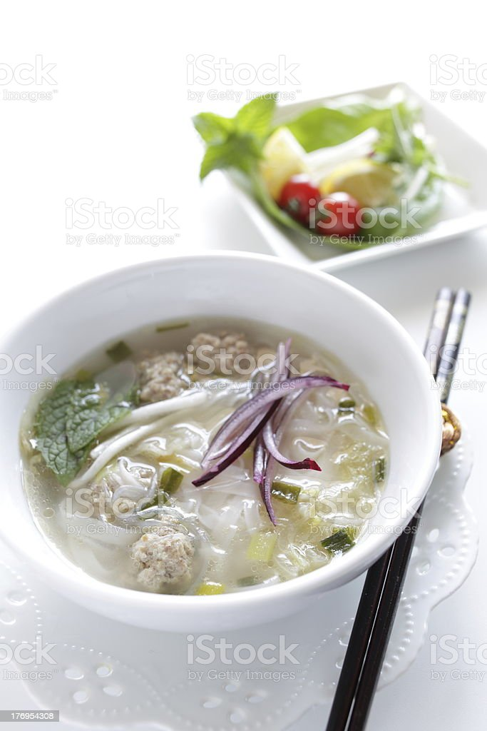 Vietnam Rice Noodles stock photo