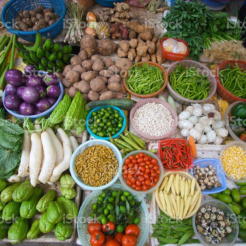 Vietnam Street Market stock photo