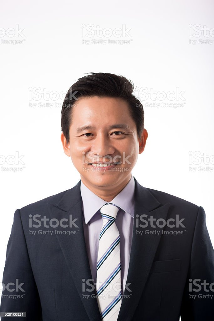Vietnamese businessman stock photo