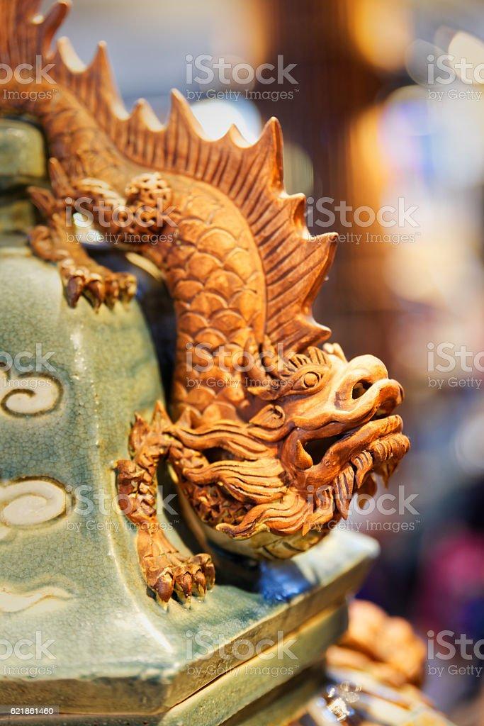 Vietnamese dragon stock photo