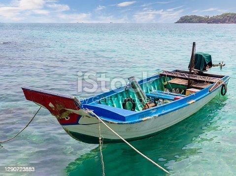 fishing boat in Phu Quoc island, Vietnam