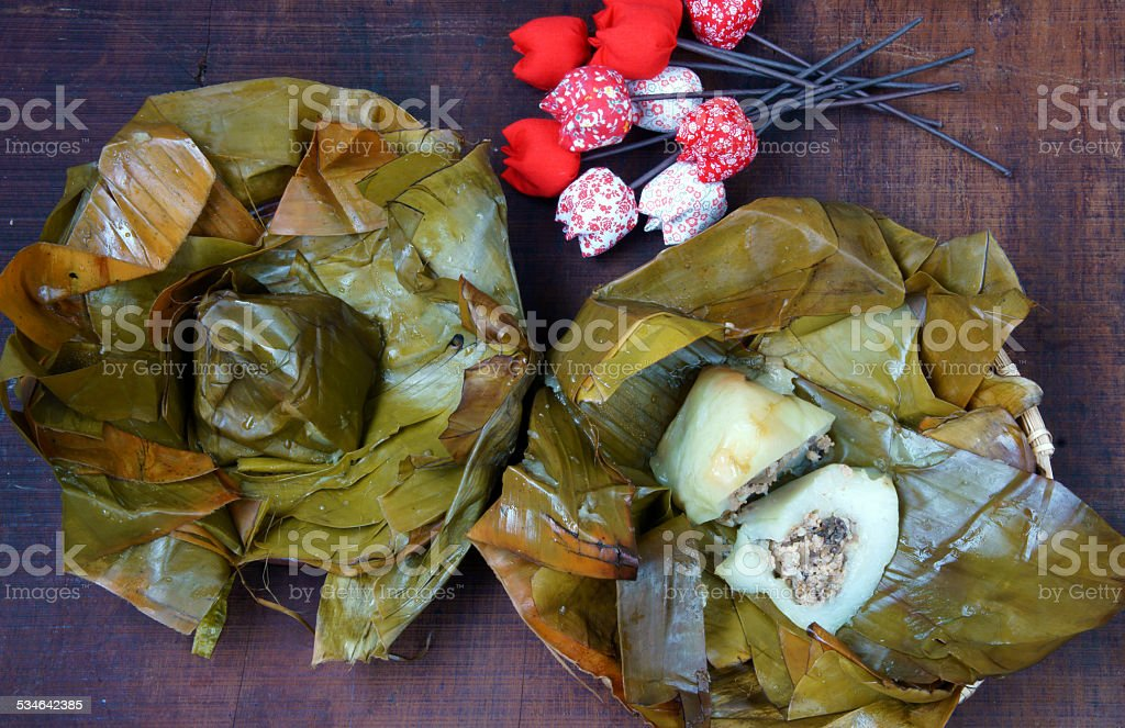 Vietnamese Food Pyramid Rice Dumpling Stock Photo Download Image Now Istock