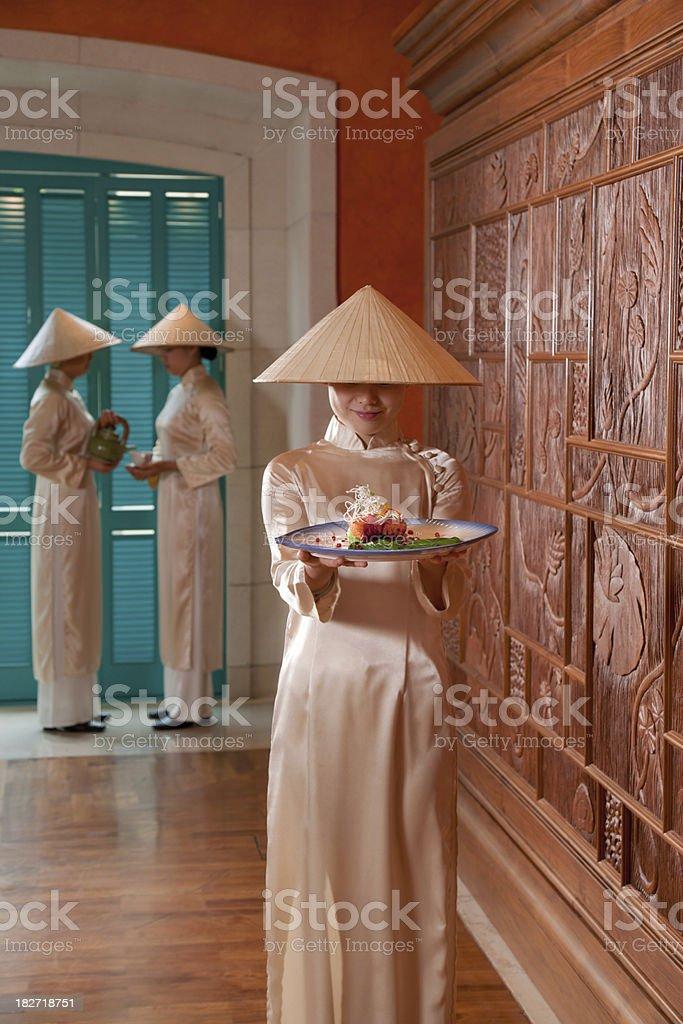 Vietnamese Girls royalty-free stock photo