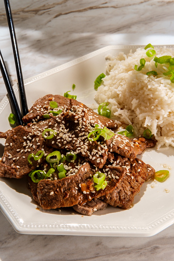 Vietnamese Grilled Sesame Beef