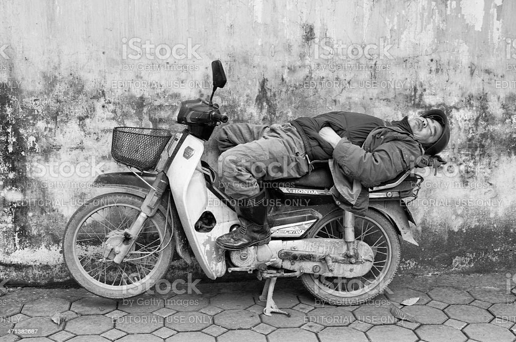 Vietnamesische Mann auf Rollstuhl – Foto