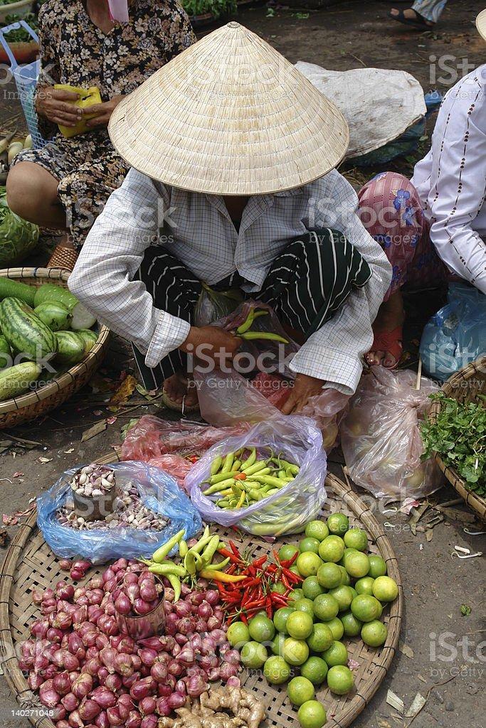 vietnamese Market royalty-free stock photo