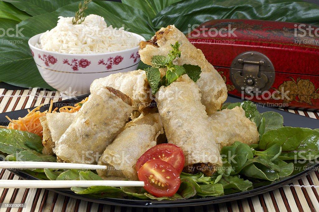 Vietnamese Nems royalty-free stock photo