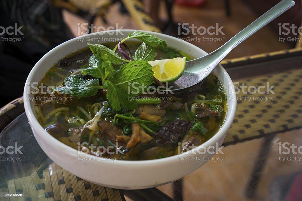 Vietnamese Pho royalty-free stock photo