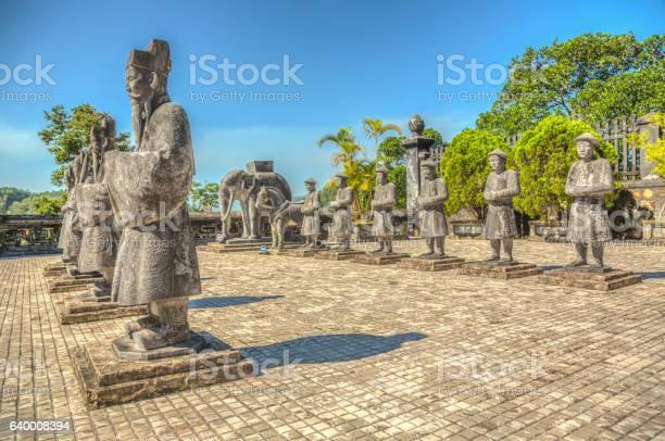 Vietnamese statues at khai dinh emperors mausoleum hue vietnam picture id640008394?b=1&k=6&m=640008394&s=612x612&h=odk7vnw6a9qozkl wt6zmwmzrluwjroysyklgmxuusu=