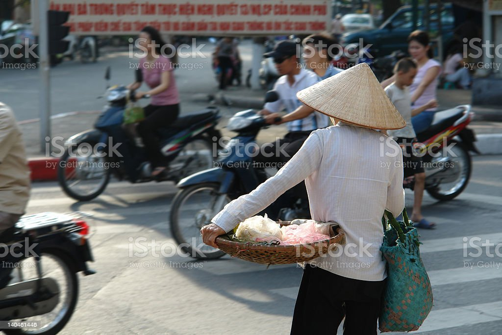Vietnamese street life royalty-free stock photo
