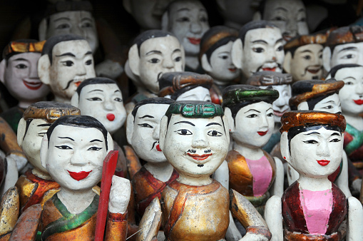 Vietnamese Water Puppets Stock Photo - Download Image Now