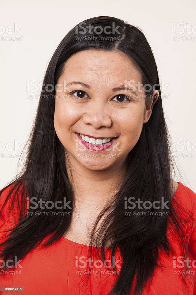 Vietnamese Woman royalty-free stock photo