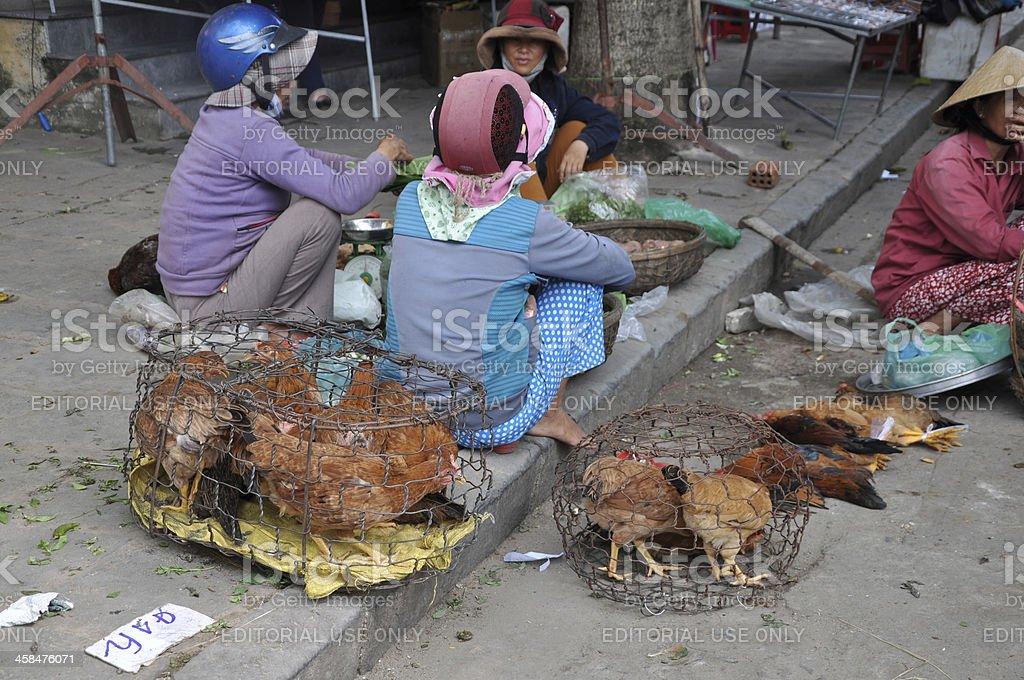 Vietnamese Women in Hoi An royalty-free stock photo