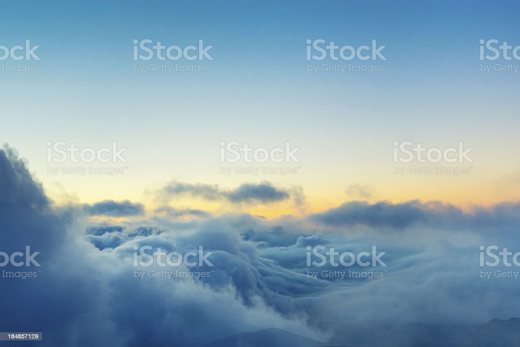 View Above the Clouds stock photo