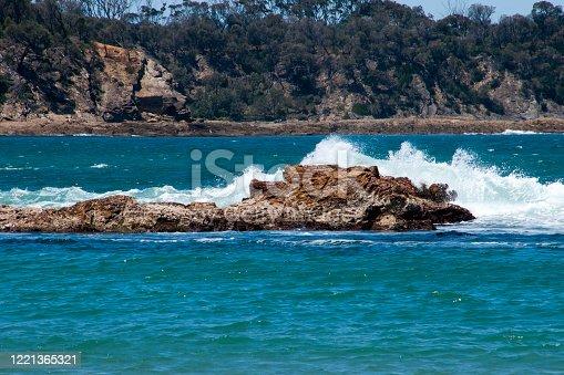 Springtime scene from Tomakin Beach, Australia
