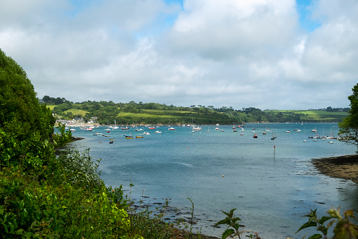 View across the Helford Estuary from the village of Helford