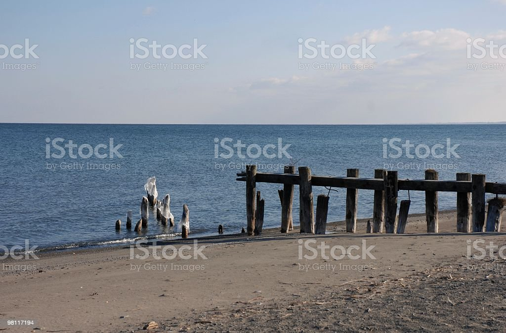 view across the lake royalty-free stock photo