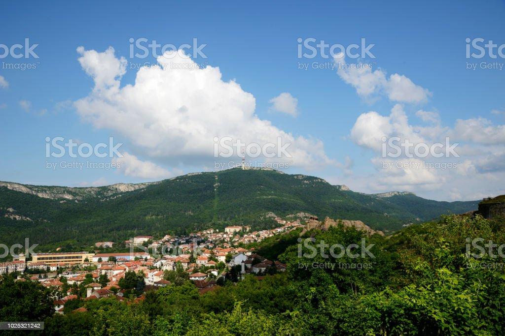 View at Belogradchik town, Bulgaria. stock photo