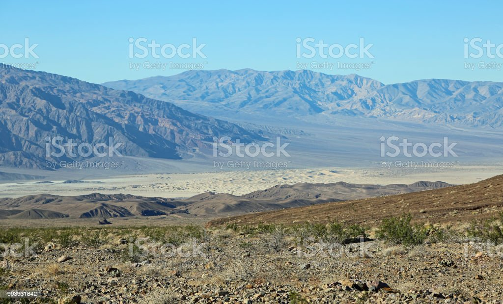 View at Mesquite Flat Sand Dunes - Royalty-free Beauty Stock Photo