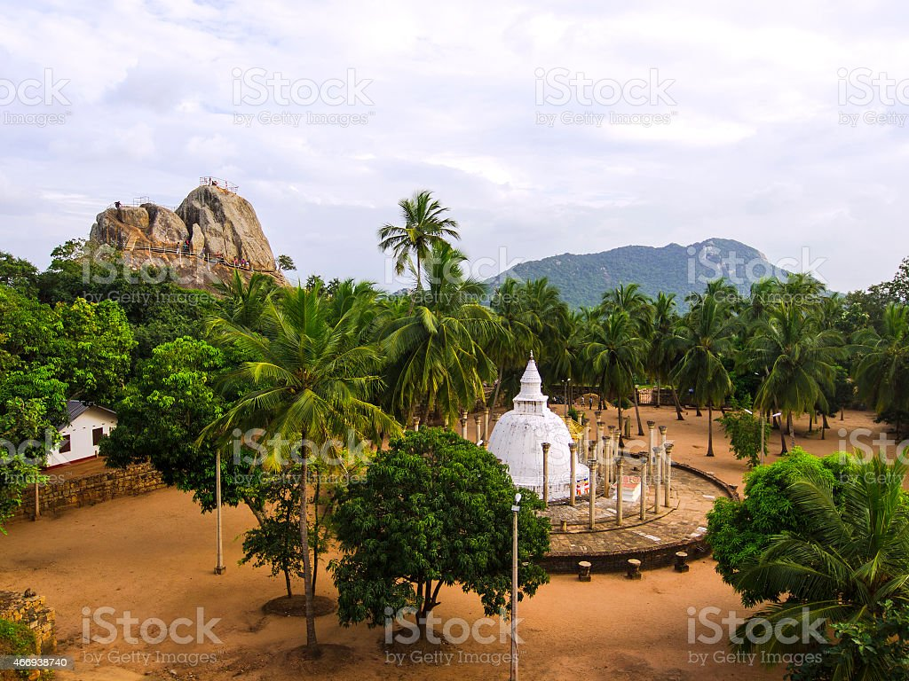 Vue au Mihintale - Photo